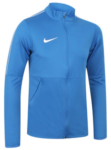 Nike Mens Dry Park 18 Dri-Fit Full Zip Track Jacket - AA2059-463 - Blue Front