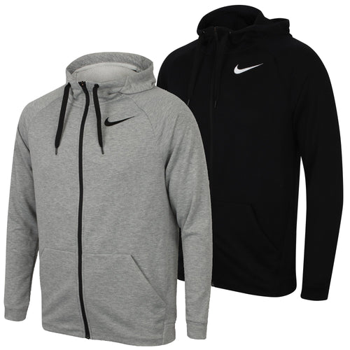 Nike Men's Dry Training Dri-Fit Fleece Full Zip Hoodie