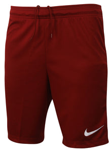 Nike Men's Dri-Fit Swoosh Burgundy Wicking Shorts