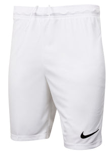 Nike Men's Dri-Fit Swoosh White Wicking Shorts