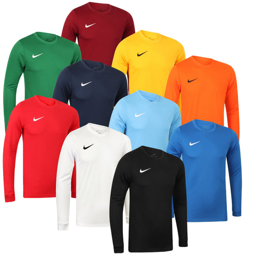 Nike Mens Park Dri-Fit Long Sleeve Football Training Shirt - 725884