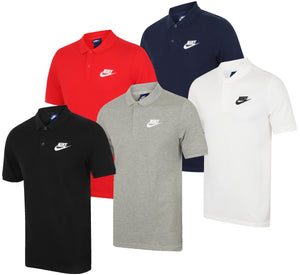 Nike Mens Sportswear Pique Cotton Polo Shirt - 909746