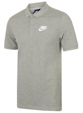 Nike Mens Sportswear Pique Cotton Polo Shirt - 909746-063 - Grey - Front