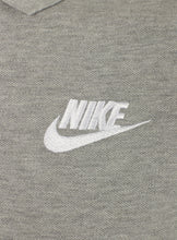 Nike Mens Sportswear Pique Cotton Polo Shirt - 909746-063 - Grey - Logo