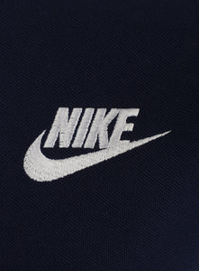 Nike Mens Sportswear Pique Cotton Polo Shirt - 909746-429 - Navy - Logo