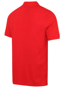 Nike Mens Sportswear Pique Cotton Polo Shirt - 909746-657 - Red - Back