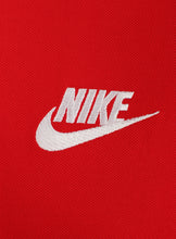Nike Mens Sportswear Pique Cotton Polo Shirt - 909746-657 - Red - Logo