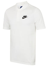 Nike Mens Sportswear Pique Cotton Polo Shirt - 909746-100 - White - Front
