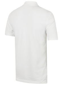 Nike Mens Sportswear Pique Cotton Polo Shirt - 909746-100 - White - Back