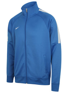 Nike Mens Team Club Full Zip Football Tracksuit Training Track Top - 658683-463 - Blue - Front Left