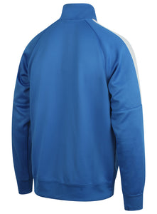 Nike Mens Team Club Full Zip Football Tracksuit Training Track Top - 658683-463 - Blue - Back