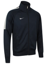 Nike Mens Team Club Full Zip Football Tracksuit Training Track Top - 658683-451 - Navy - Front