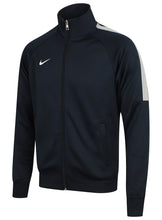 Nike Mens Team Club Full Zip Football Tracksuit Training Track Top - 658683-451 - Navy - Front Left