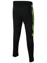 Nike Mens Team Club Black/Green Tapered Tracksuit Bottoms