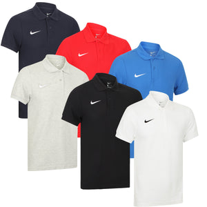 Nike Mens Team Core Pique Cotton Polo Shirt - 454800