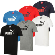 Puma Mens Style Essentials No1 Cotton dryCELL Crew T-Shirt - 831854