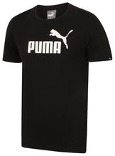 Puma Mens Style Essentials No1 Cotton dryCELL Crew T-Shirt - 831854-01 - Black - Front