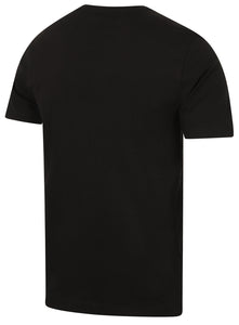 Puma Mens Style Essentials No1 Cotton dryCELL Crew T-Shirt - 831854-01 - Black - Back