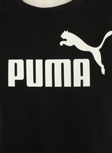 Puma Mens Style Essentials No1 Cotton dryCELL Crew T-Shirt - 831854-01 - Black - Logo