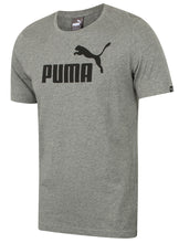 Puma Mens Style Essentials No1 Cotton dryCELL Crew T-Shirt - 831854-03 - Grey - Front