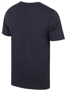 Puma Mens Style Essentials No1 Cotton dryCELL Crew T-Shirt - 831854-06 - Navy - Back