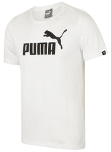 Puma Mens Style Essentials No1 Cotton dryCELL Crew T-Shirt - 831854-02 - White - Front