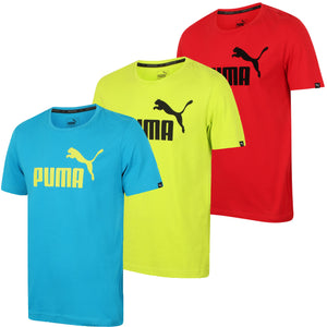 Puma Men's Style No1 Logo Bright Cotton dryCELL Crew T-Shirt All