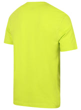Puma Men's Style No1 Logo Bright Cotton dryCELL Crew T-Shirt Green Back