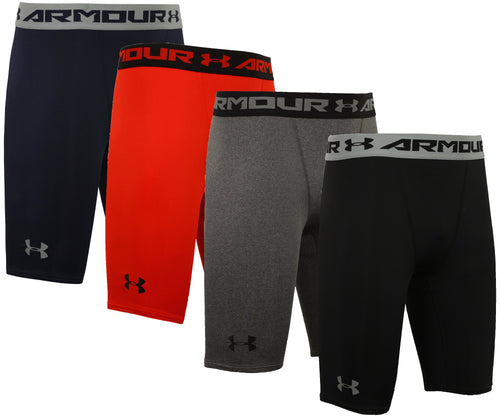 Under Armour Men's HeatGear Long Compression Shorts Short Tights Baselayer