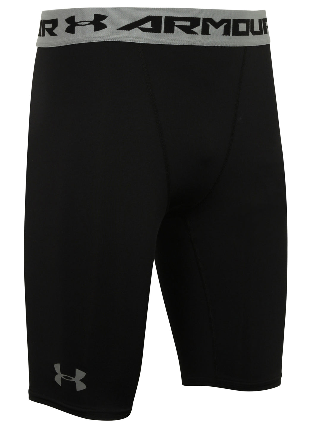 Under Armour Men's HeatGear Black Long Compression Shorts Short Tights Baselayer