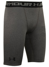 Under Armour Men's HeatGear Grey Long Compression Shorts Short Tights Baselayer