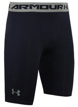 Under Armour Men's HeatGear Navy Long Compression Shorts Short Tights Baselayer