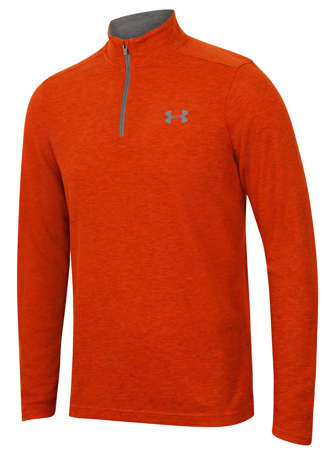 Under Armour Men's ColdGear Infrared Lightweight Red Long Sleeve 1/4 Zip Training Top
