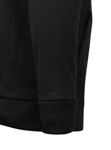 Under Armour Men's Storm Black Loose Fit Full Zip Water Repellent Fleece Hoodie
