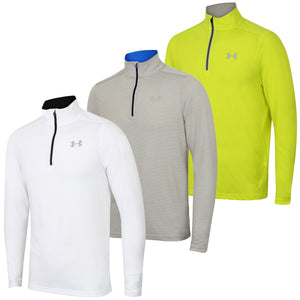 Under Armour Men's Streaker HeatGear Long Sleeve 1/4 Zip Running Top