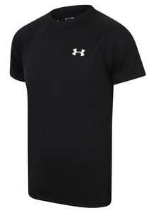 Under Armour Mens UA Tech HeatGear Loose Fit T-Shirt - 1228539-001 - Black - Front