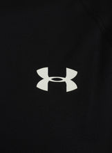 Under Armour Mens UA Tech HeatGear Loose Fit T-Shirt - 1228539-001 - Black - Logo 1