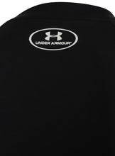 Under Armour Mens UA Tech HeatGear Loose Fit T-Shirt - 1228539-001 - Black - Logo 2