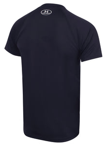 Under Armour Mens UA Tech HeatGear Loose Fit T-Shirt - 1228539-410 - Navy - Back