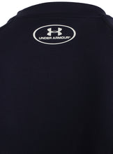 Under Armour Mens UA Tech HeatGear Loose Fit T-Shirt - 1228539-410 - Navy - Logo 2