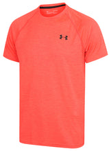 Under Armour Mens UA Tech HeatGear Loose Fit T-Shirt - 1228539-963 - Red - Front