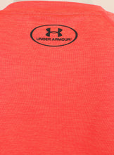 Under Armour Mens UA Tech HeatGear Loose Fit T-Shirt - 1228539-963 - Red - Logo 2