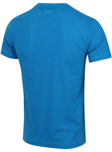 adidas Men's Aeroknit Slim Fit climacool Cotton Blend T-Shirt