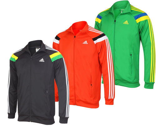 adidas Men's Anthem Full Zip Tracksuit Top Track Jacket