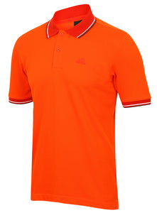 adidas Men's Essentials Clima365 Red climalite Cotton Polo Shirt