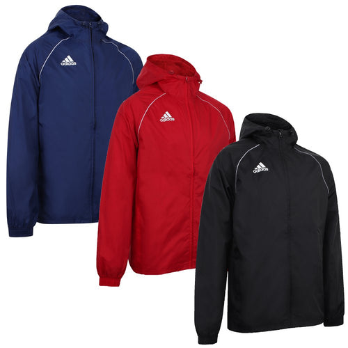 adidas Men's Core 18 Football Training Rain Jacket