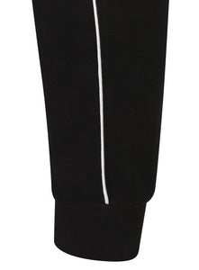 adidas Mens Core 18 Tapered Fleece Sweat Pants Tracksuit Jogging Bottoms - CE9074 - Black - Cuff