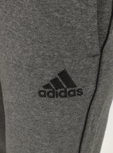 adidas Mens Core 18 Tapered Fleece Sweat Pants Tracksuit Jogging Bottoms - CV3752 - Dark Grey - Logo