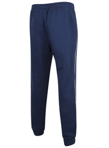 adidas Mens Core 18 Tapered Fleece Sweat Pants Tracksuit Jogging Bottoms - CV3753 - Dark Blue - Back
