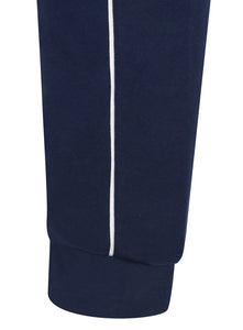adidas Mens Core 18 Tapered Fleece Sweat Pants Tracksuit Jogging Bottoms - CV3753 - Dark Blue - Cuff
